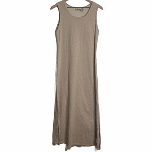 L.L Bean Cotton Sleeveless Maxi Dress Small